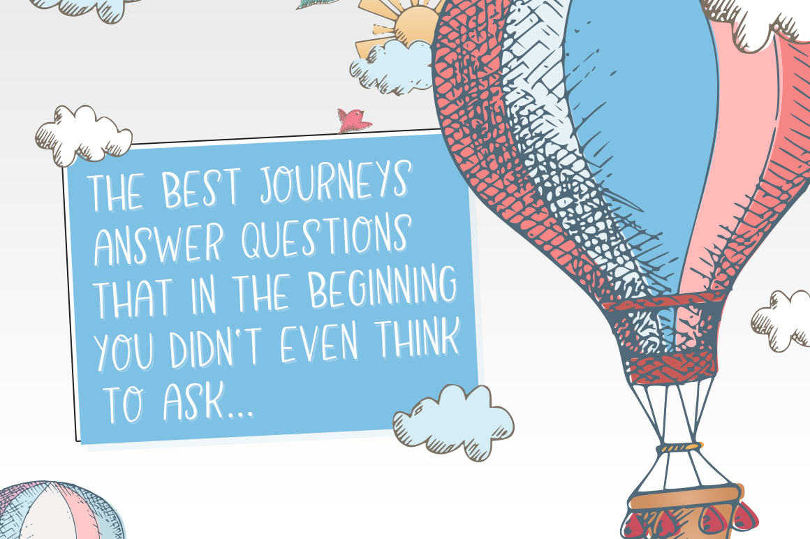 Air Balloon Font example image 3