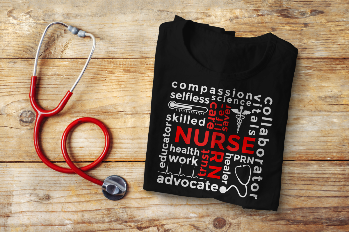 Nurse Subway Art SVG Design File example image 1
