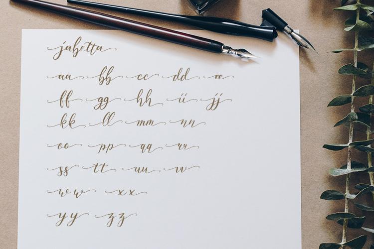 Jabetta Script example image 9