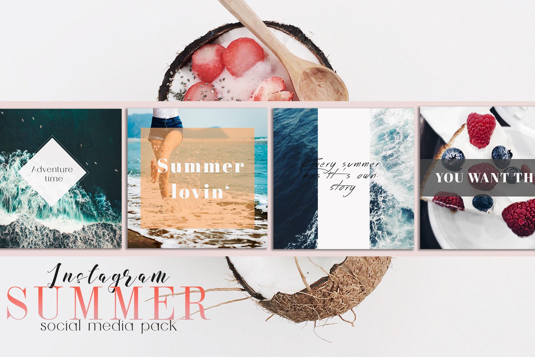 Sweet Summer Instagram Pack example image 2