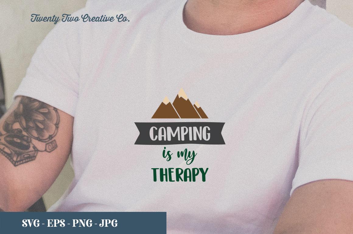 Camping SVG Bundle   SVG, EPS, PNG, JPG example image 15