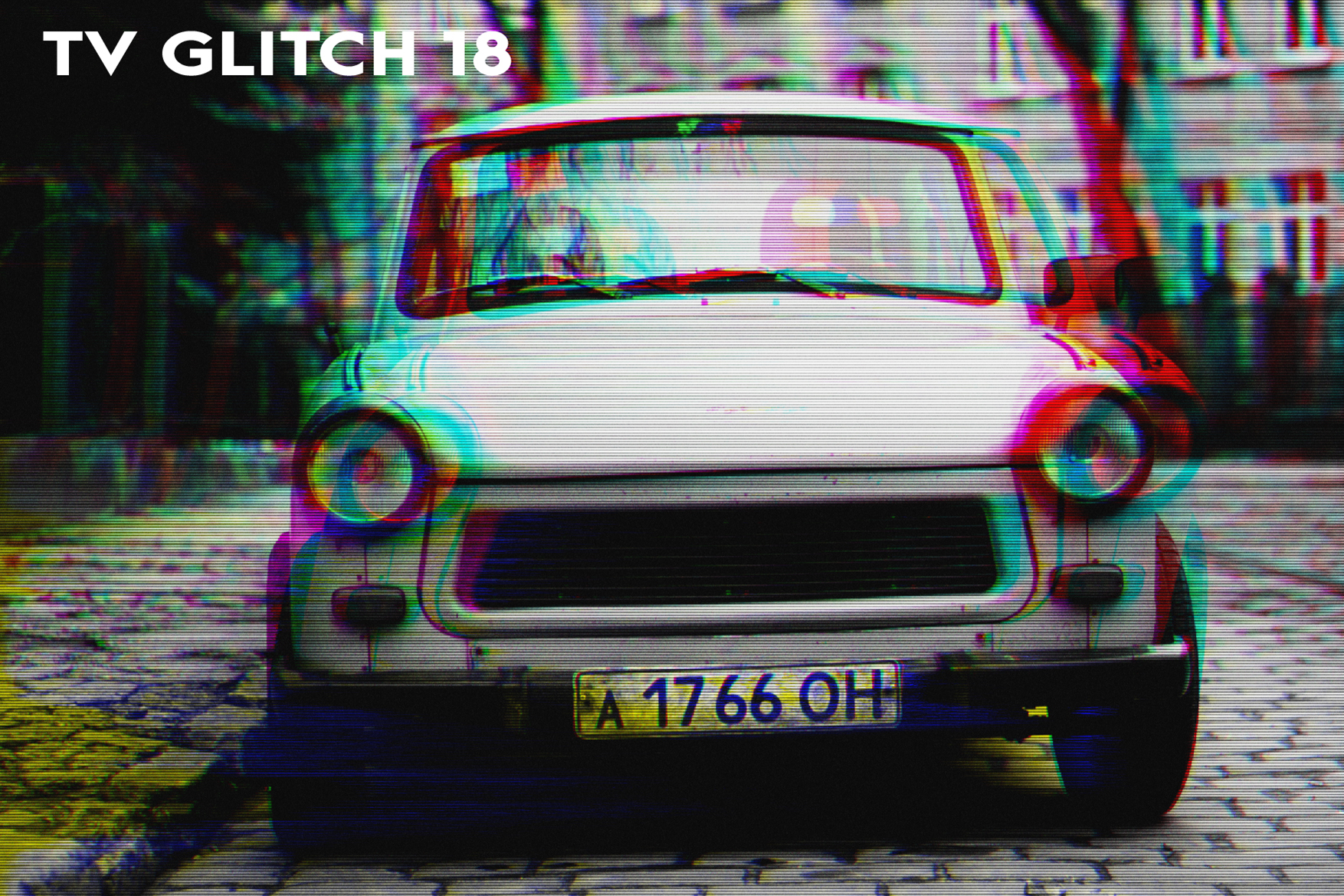 AL's Glitch TV Action Pack Vol. 1 example image 20
