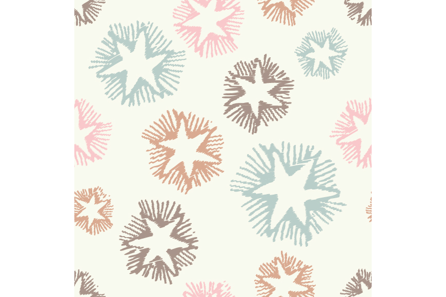 Set of 12 boho seamless vector backgrounds.  example image 4