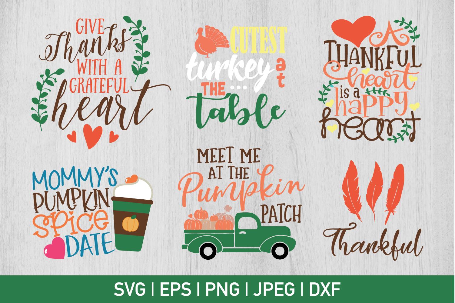 Thanksgiving Bundle example image 1