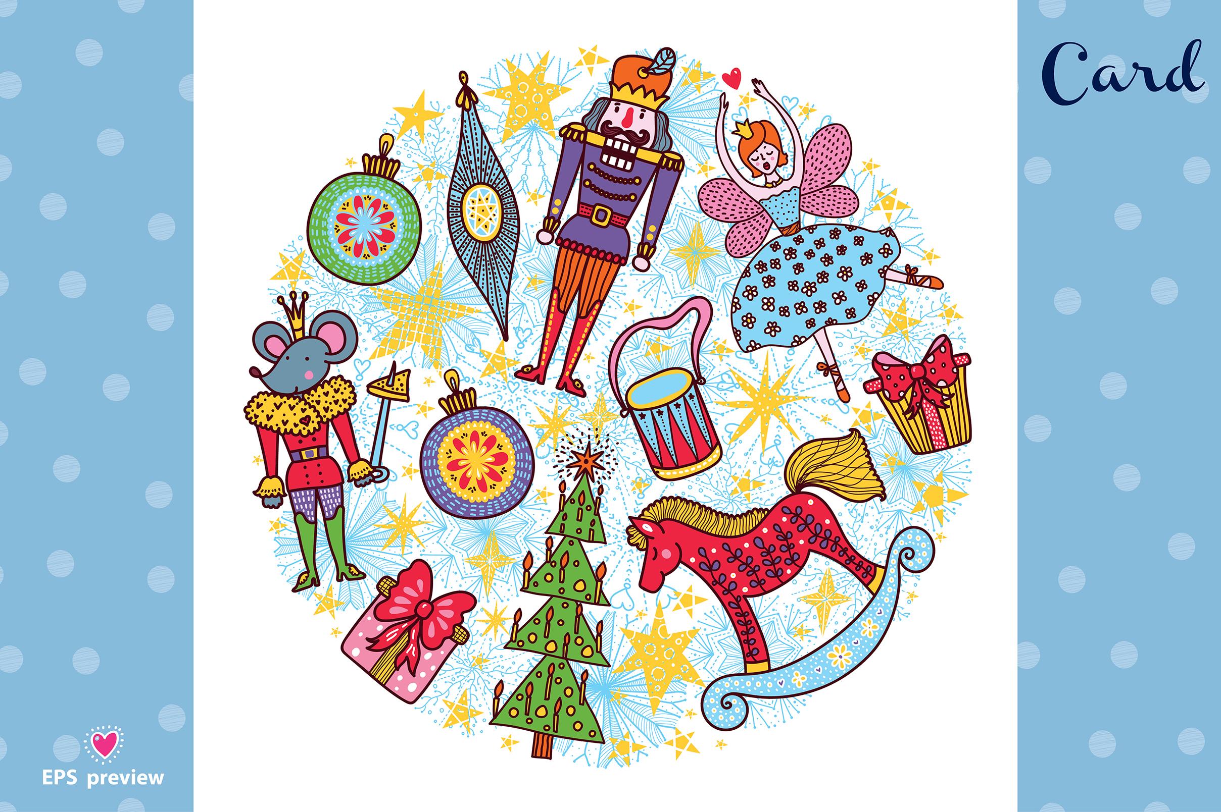 Nutcracker. Christmas story. example image 18