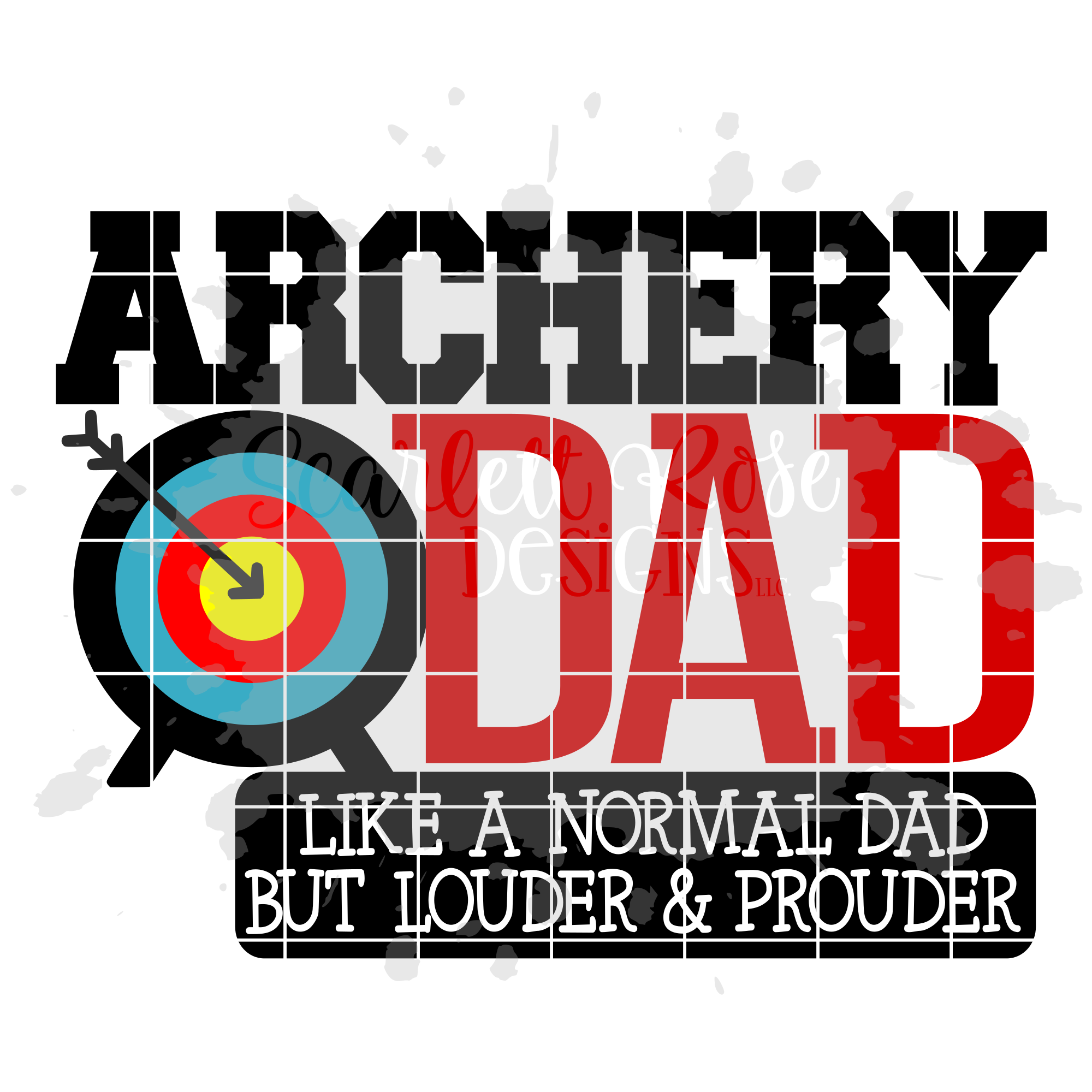 Archery Dad - Loud and Proud SVG example image 2