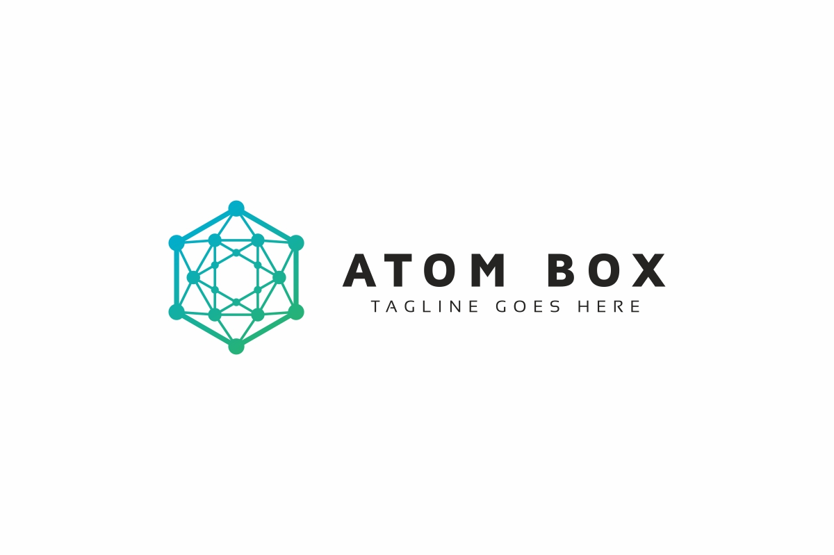 Atom Box Logo example image 3