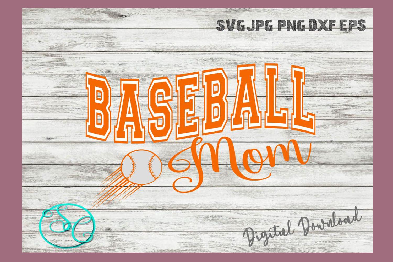 Baseball Mom SVG example image 4