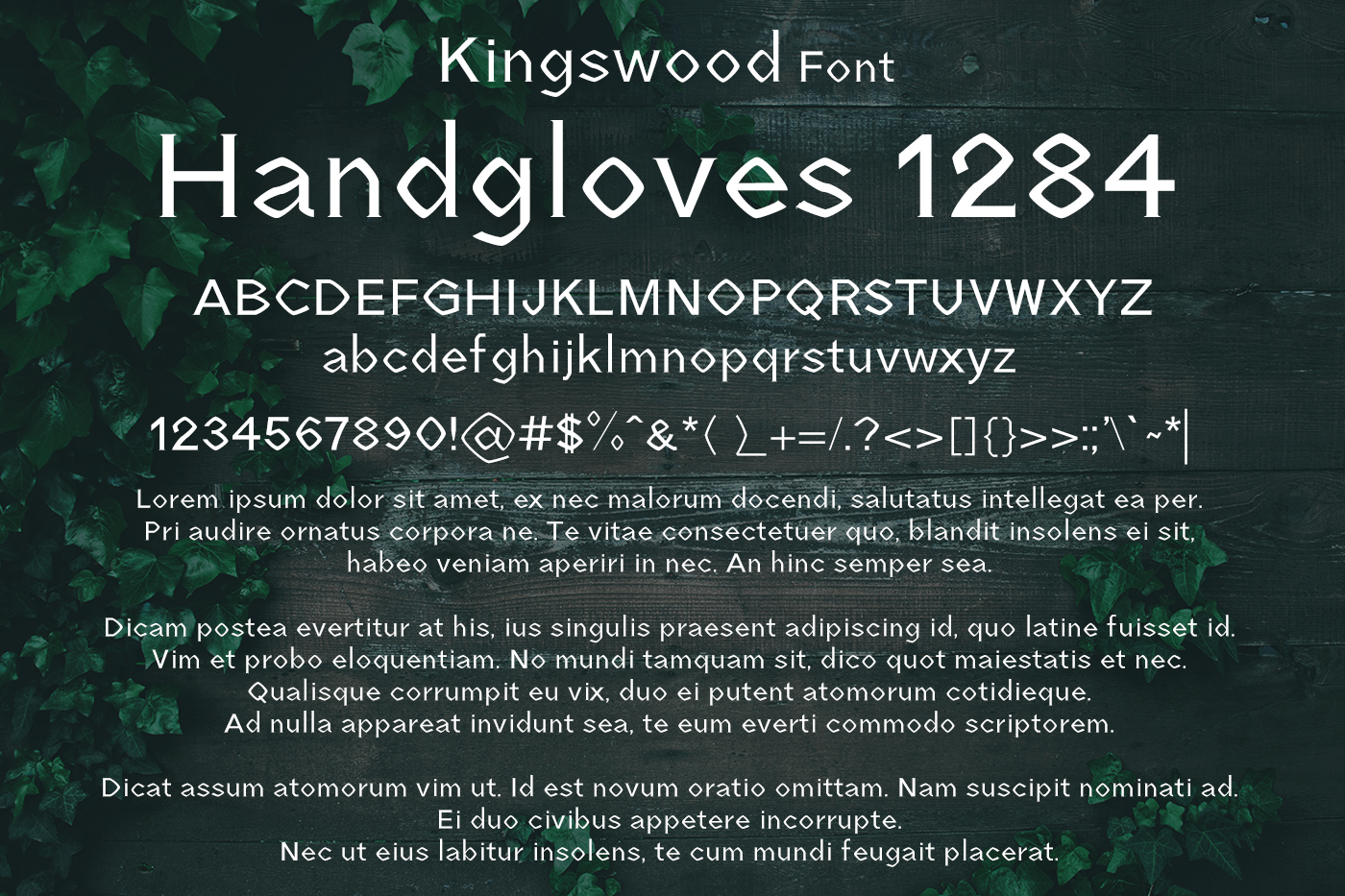 Kingswood Font example image 2