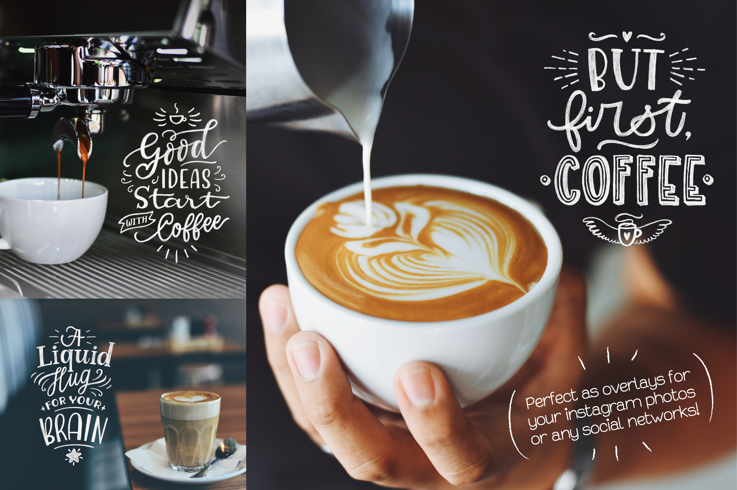 Coffee Chalk Letterings example image 5