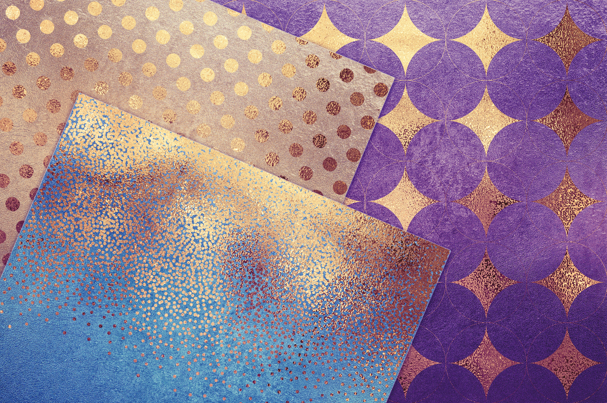 Gold Pattern & Textures example image 2