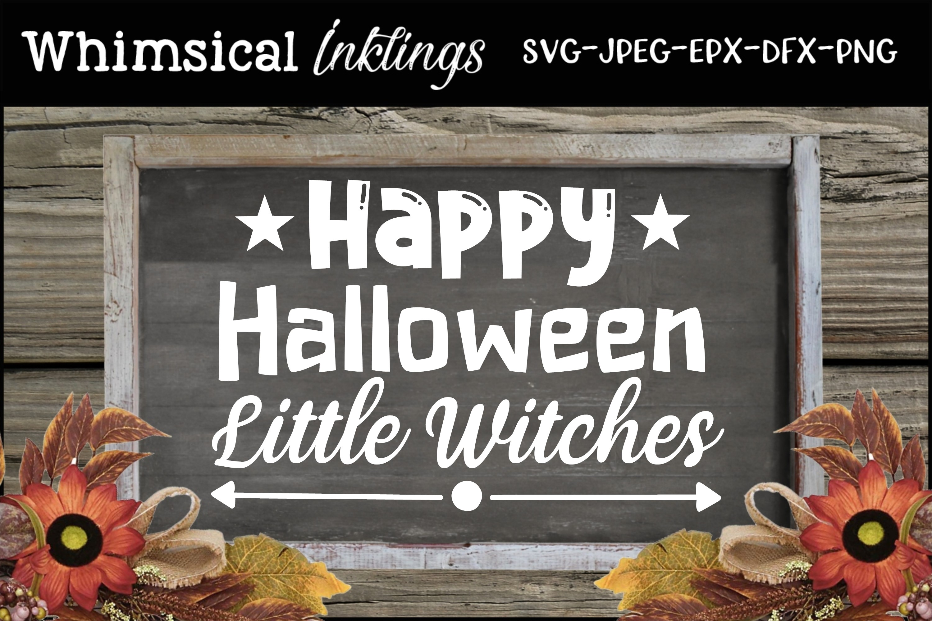 Little Witches SVG example image 1