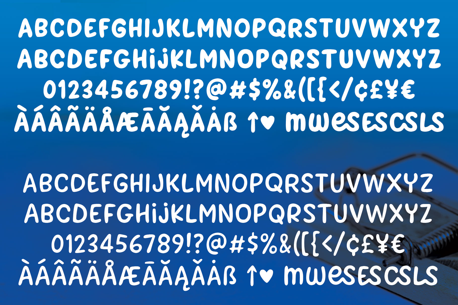 Cheesy Grits - a tangy font in 2 weights! example image 2