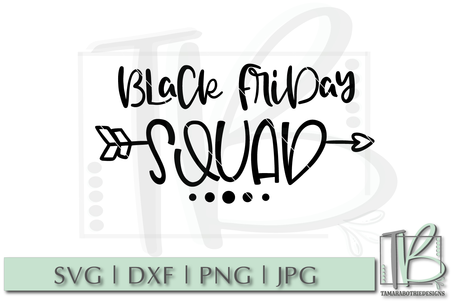 Black Friday SVG File, Black Friday Squad SVG example image 2