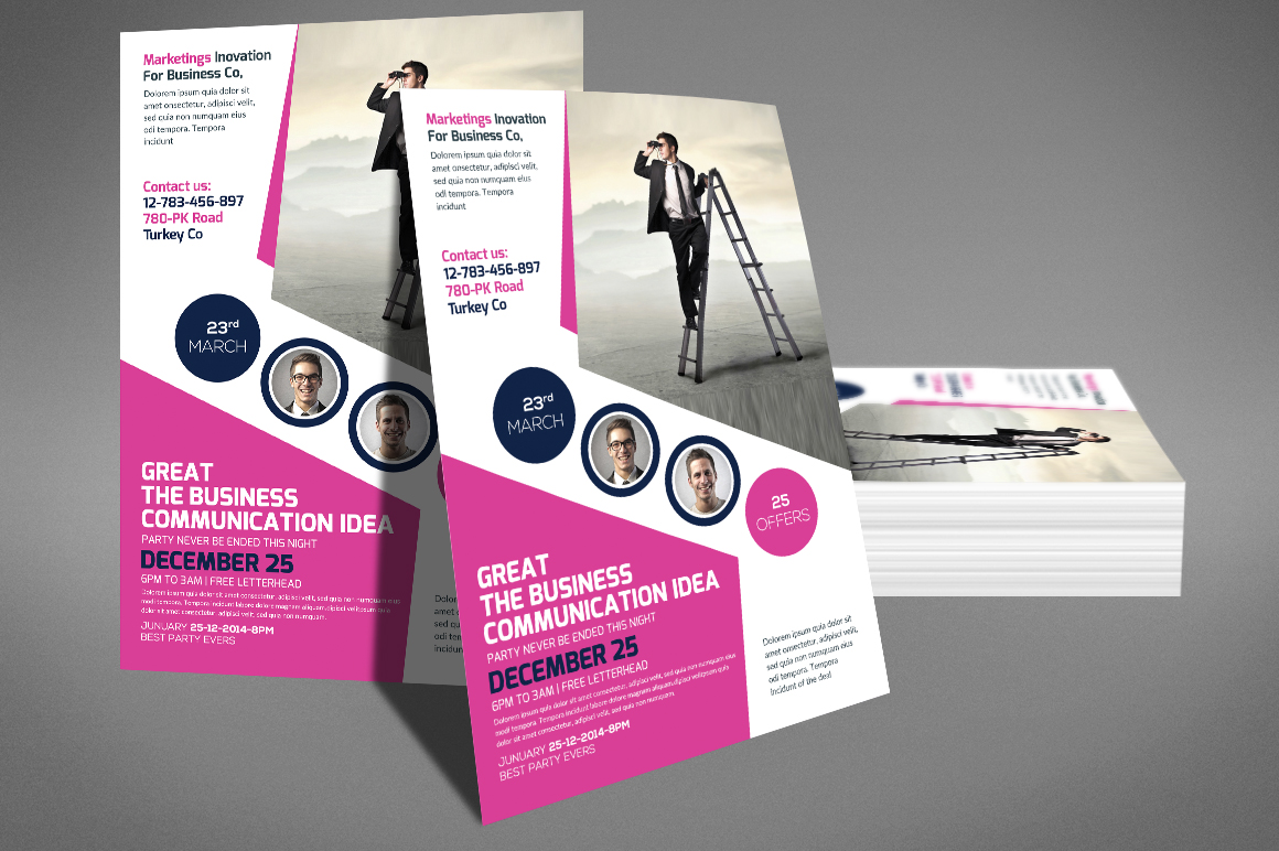Company Flyer Template example image 2
