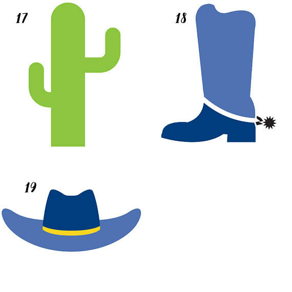 Cowboy Clipart example image 3
