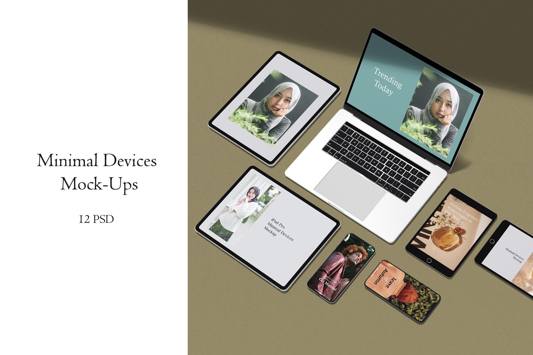 Minimal Devices Mock-Ups example image 1