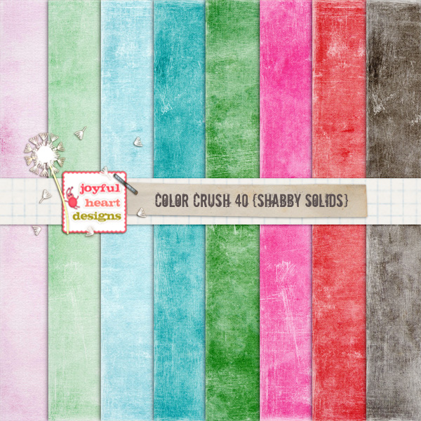 Color Crush 40 {shabby solids} example image 1