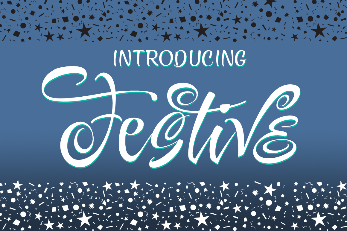 Festive 14 Font Package example image 7