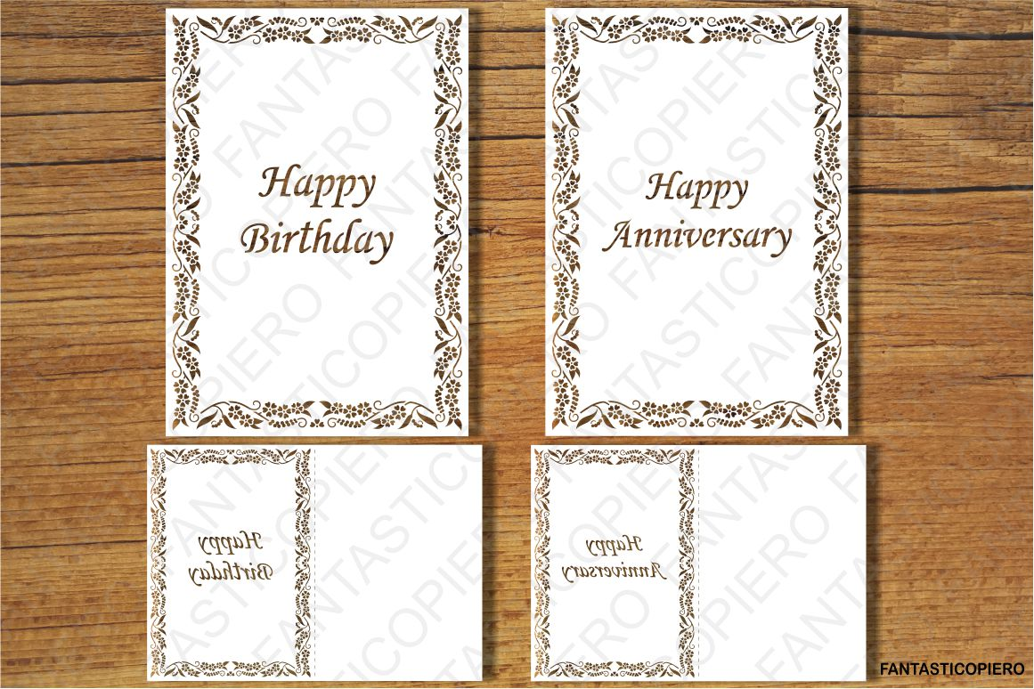Happy Birthday SVG files for Silhouette Cameo and Cricut example image 1