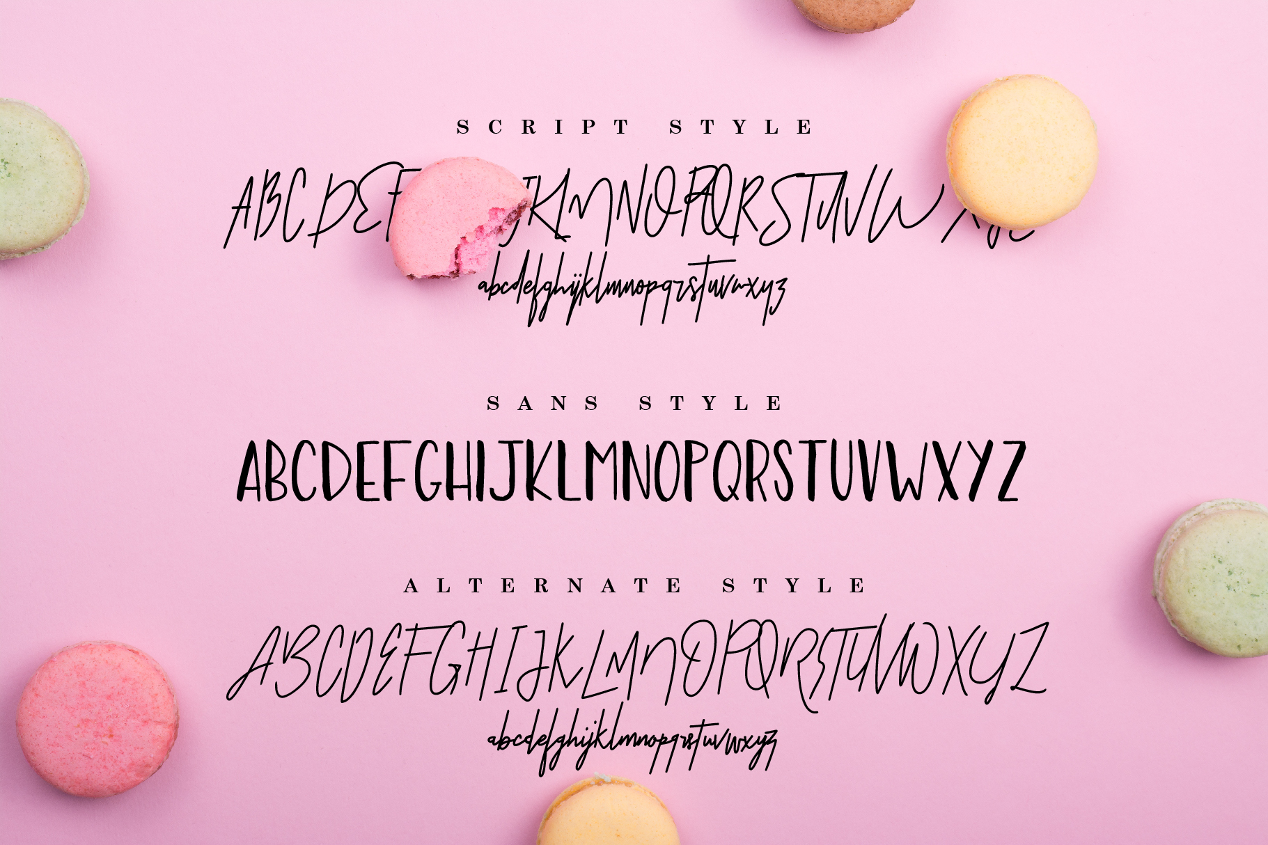 Rawkstone Font Duo example image 4