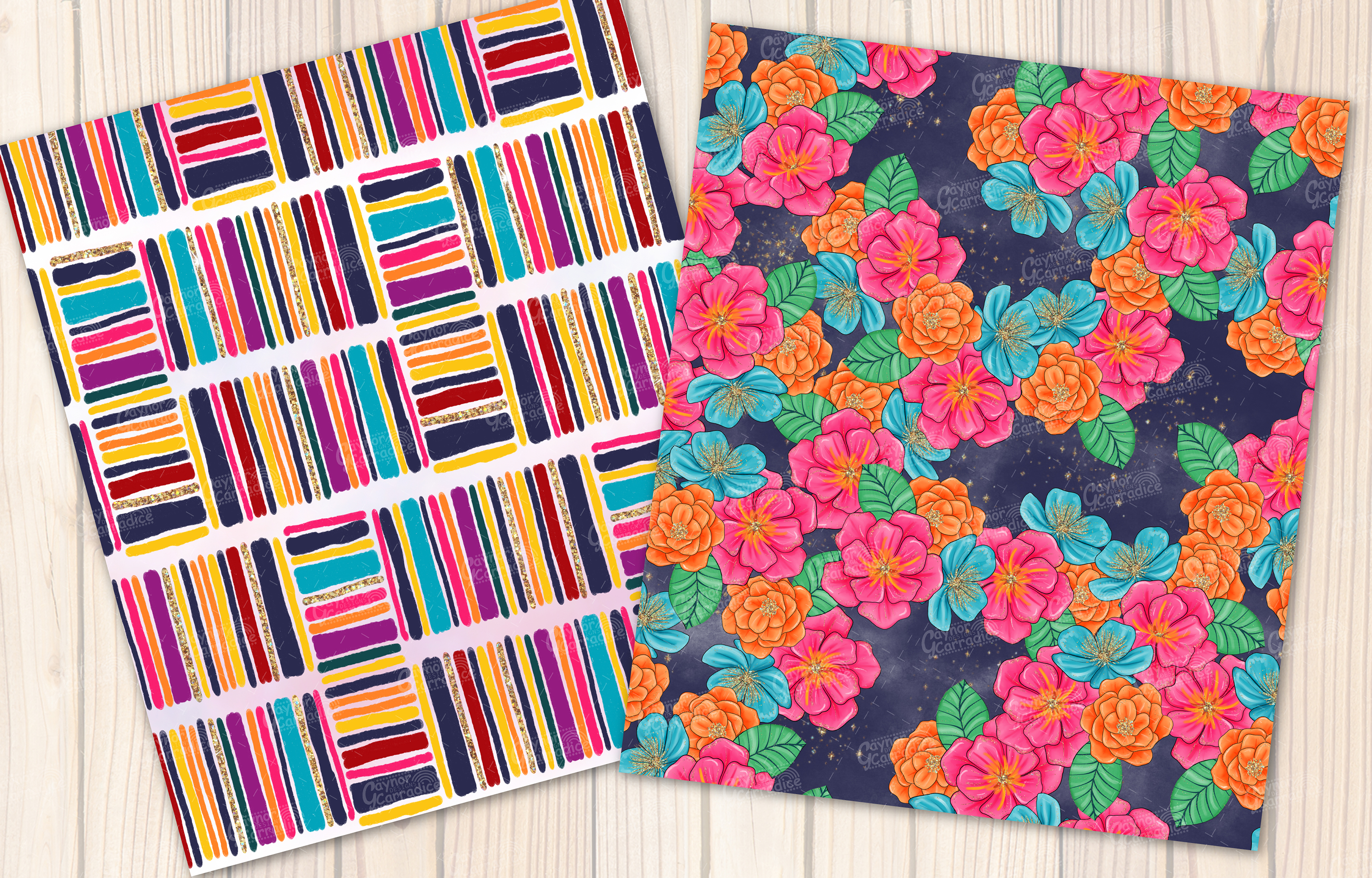 Lola - Mecian cinco de mayo Seamless Pattern collection example image 6