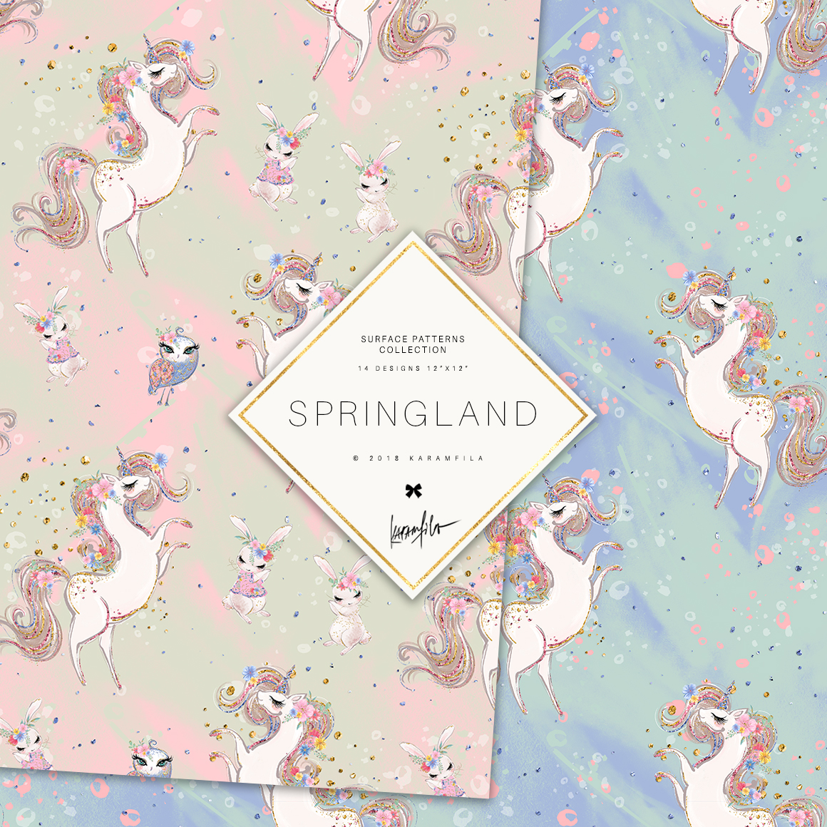 Spring Woodland Patterns example image 8