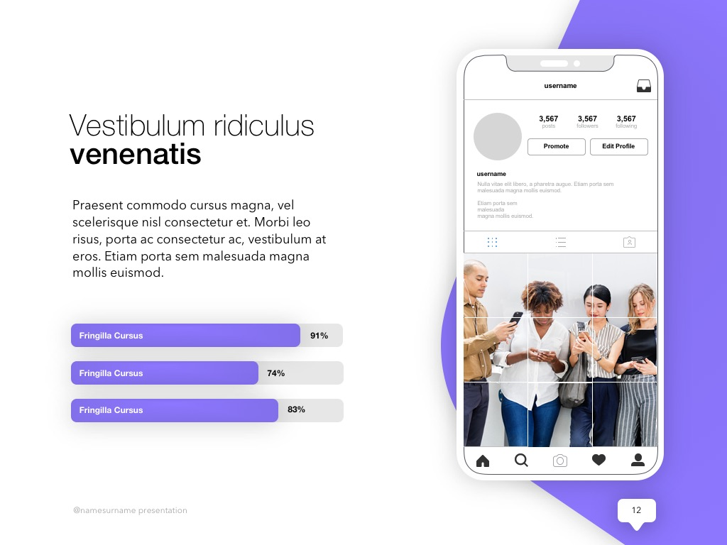 Influencer Marketing PowerPoint Template example image 13