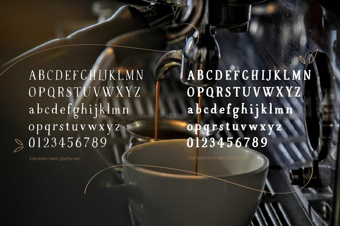 Espresso & Espresso Bold example image 2