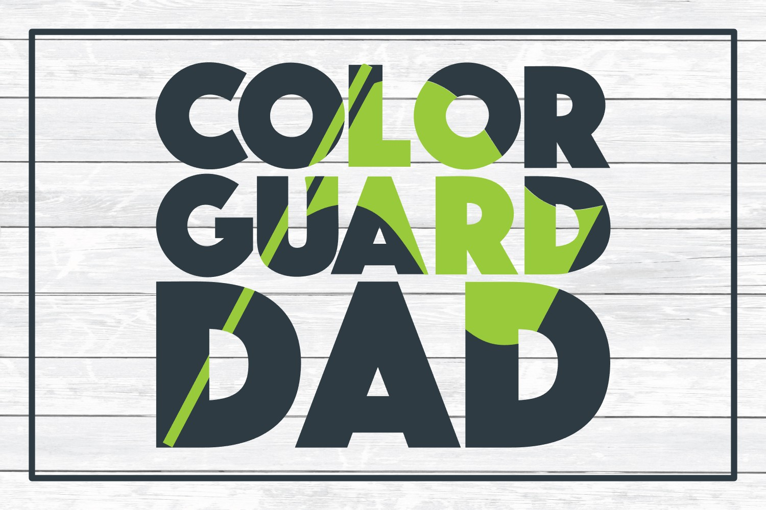 Color Guard Mom and Color Guard Dad SVG Cut Files example image 4