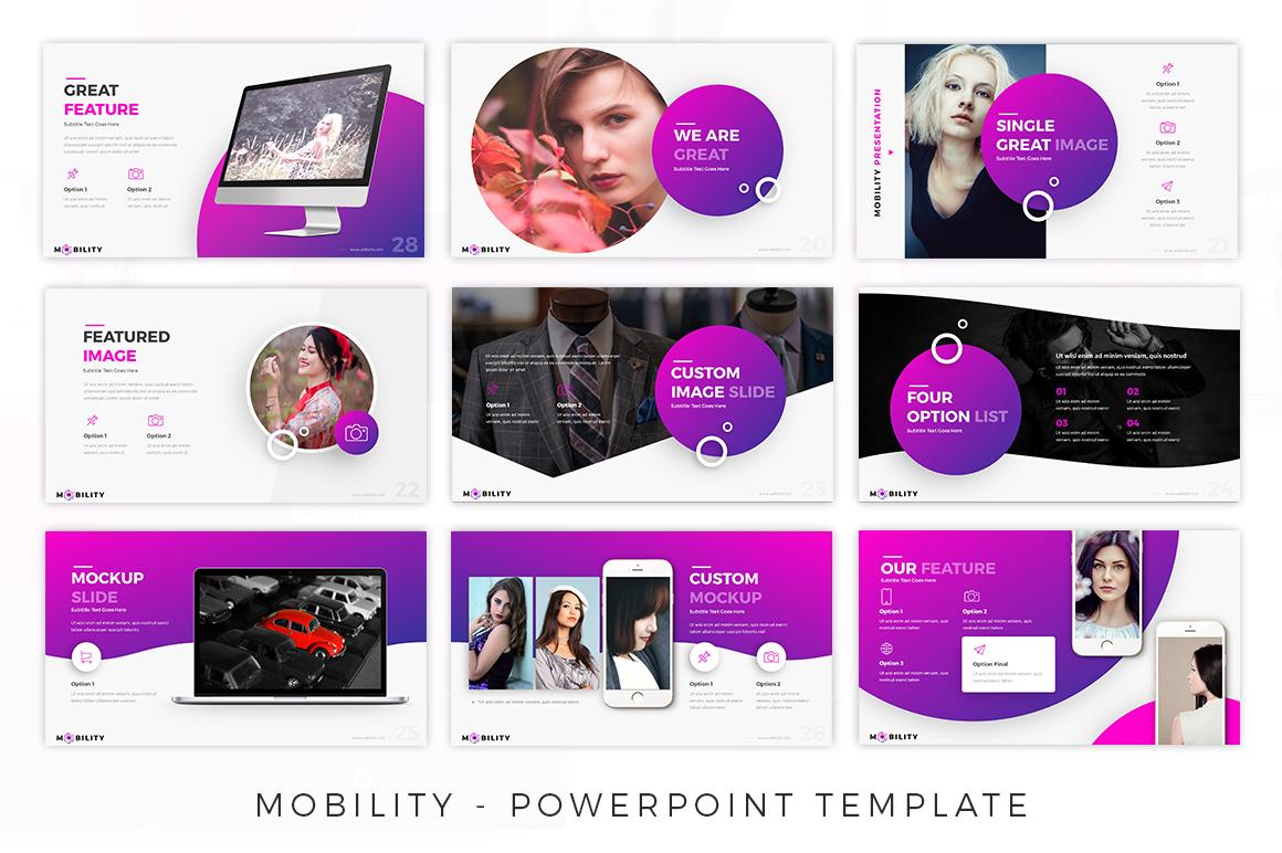 Mobility - Creative Presentation example image 6