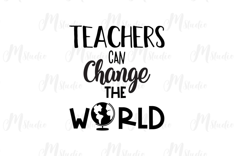 Teacher SVG Bundle. example image 25