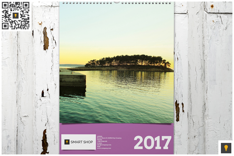 2017 Wall Calendar example image 7