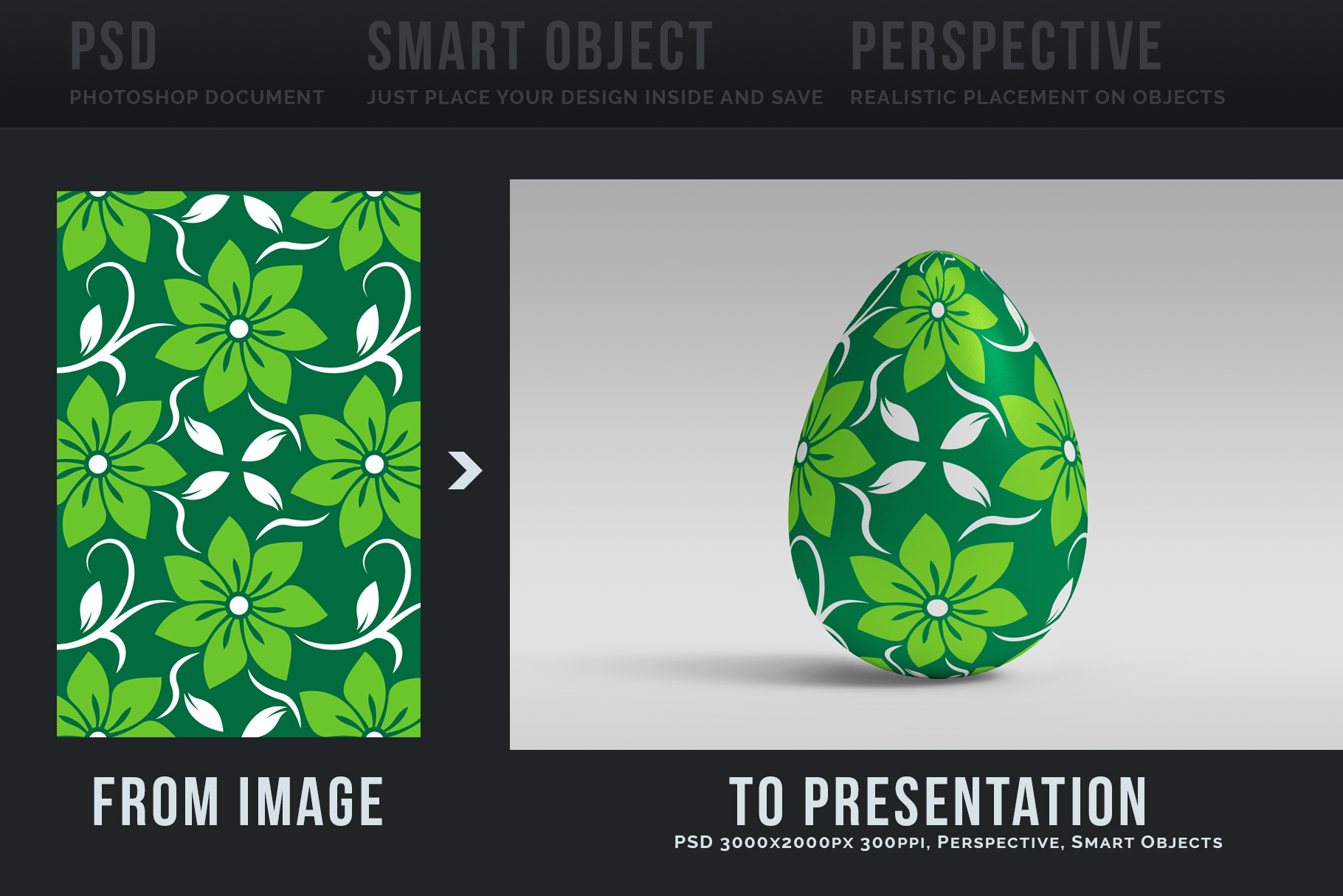 Easter Egg Mockups and Images example image 3