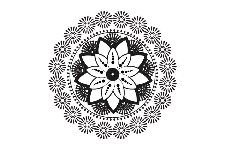 Mandalas. Round forms. example image 8