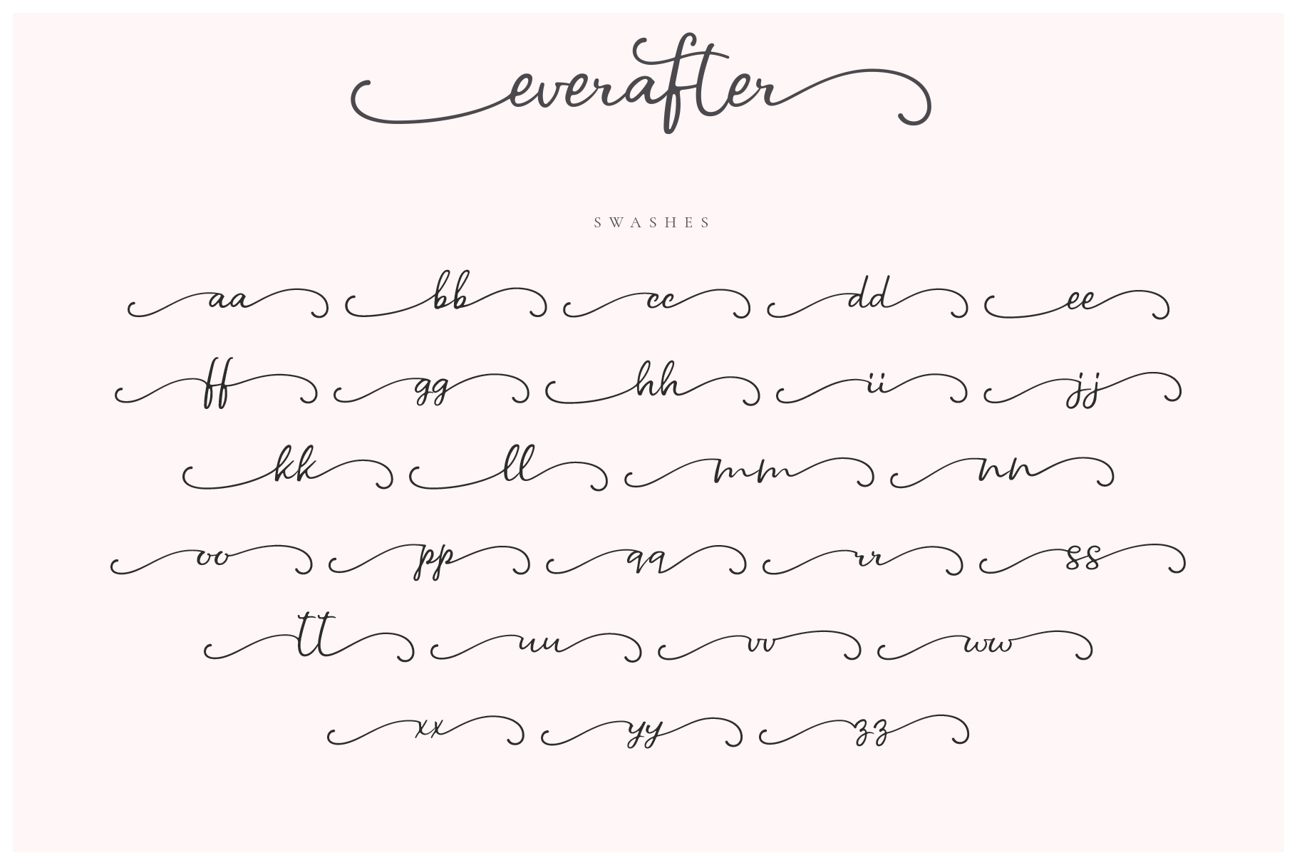 Ever After | A Modern Calligraphy Font example image 5
