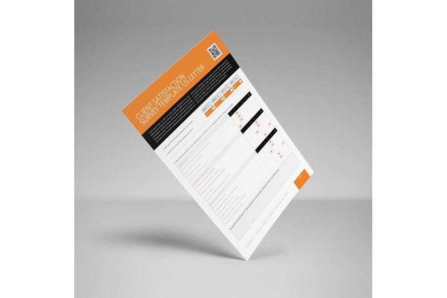 Client Satisfaction Survey Template US Letter example image 5