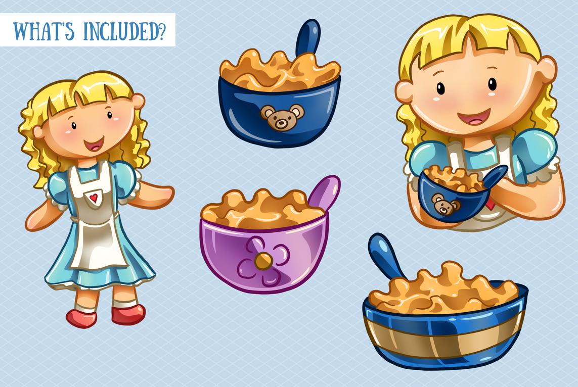 Goldilocks and the Three Bears example image 2