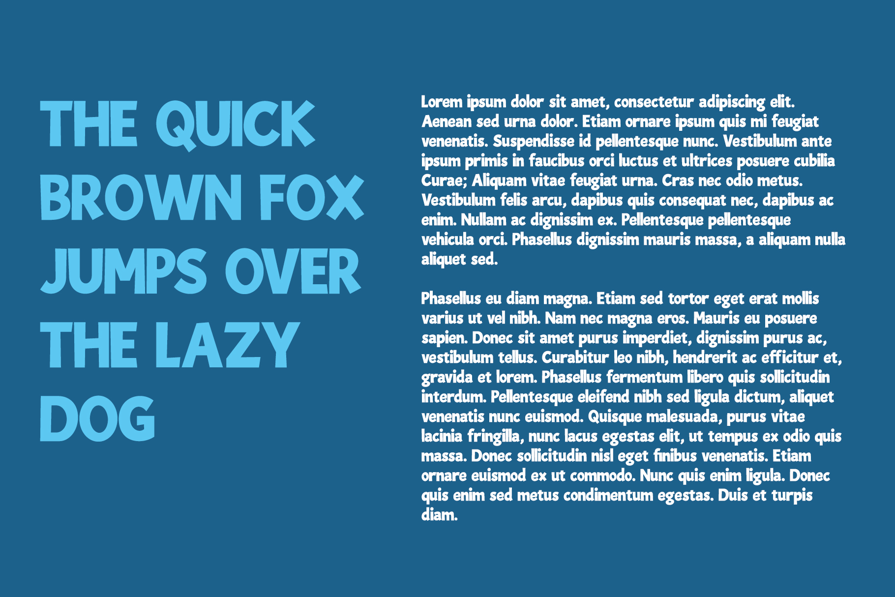 Blue Lagoon font example image 11