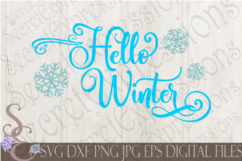 Winter SVG Bundle 10 Designs example image 4