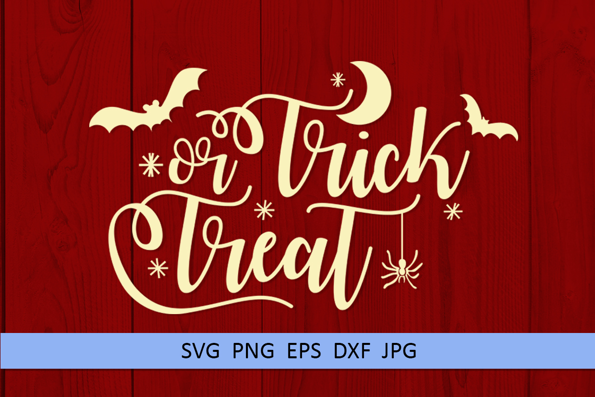 Halloween svg Trick or treat svg Boo svg Spider web svg example image 3