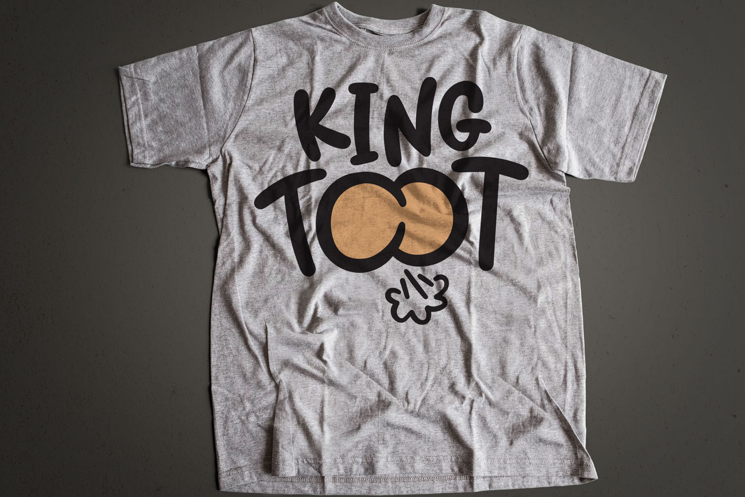 King Toot - Hand-Lettered Cut File Design example image 2