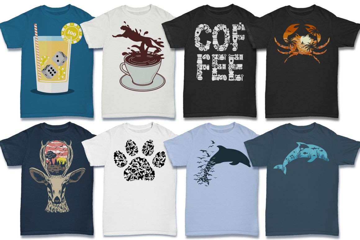 103 Tshirt Designs Mega Bundle example image 4