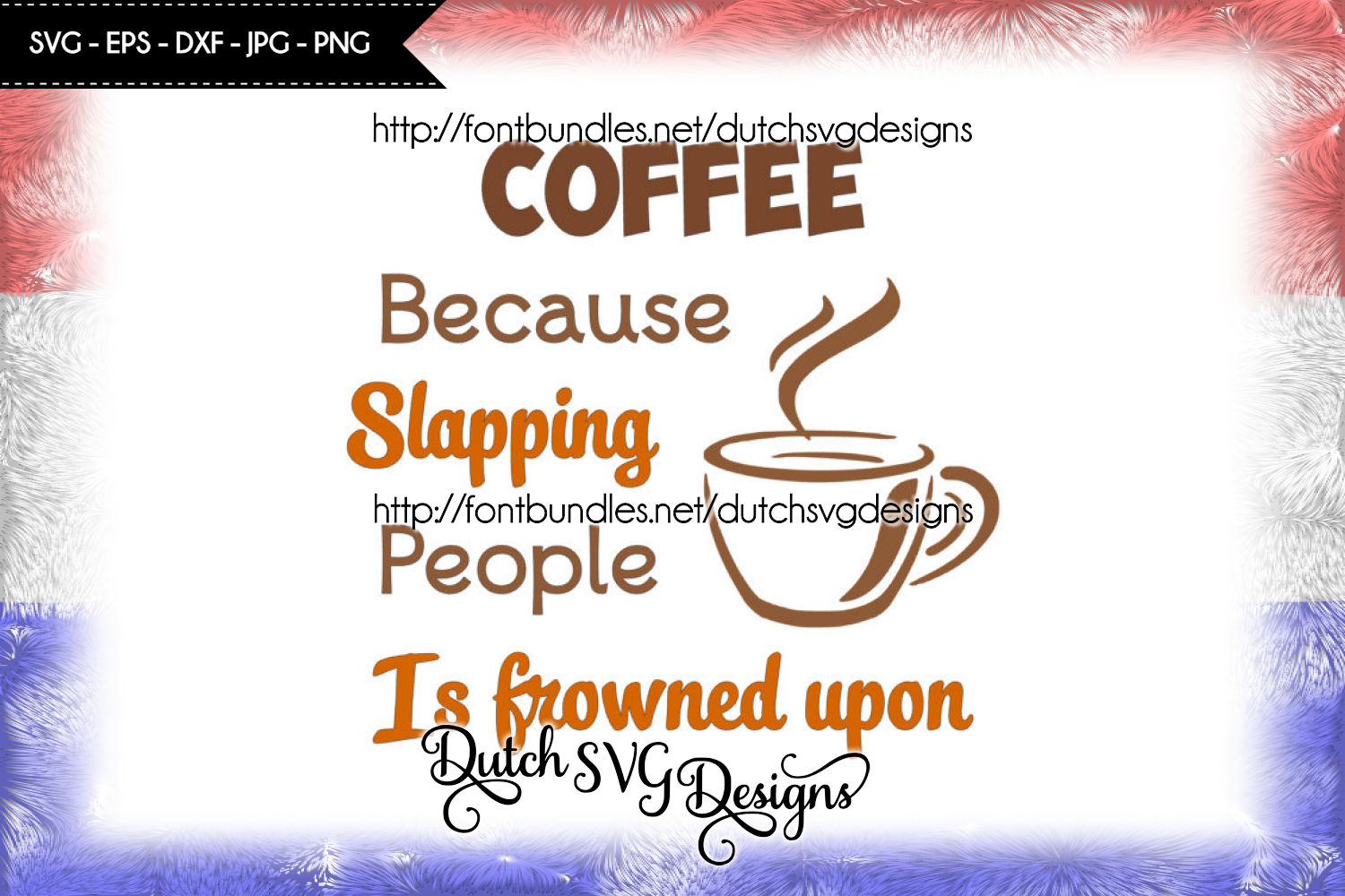 Text cutting file Coffee with cup / mug example image 1