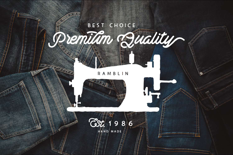 Ramblin Font Duo (15% OFF) example image 7