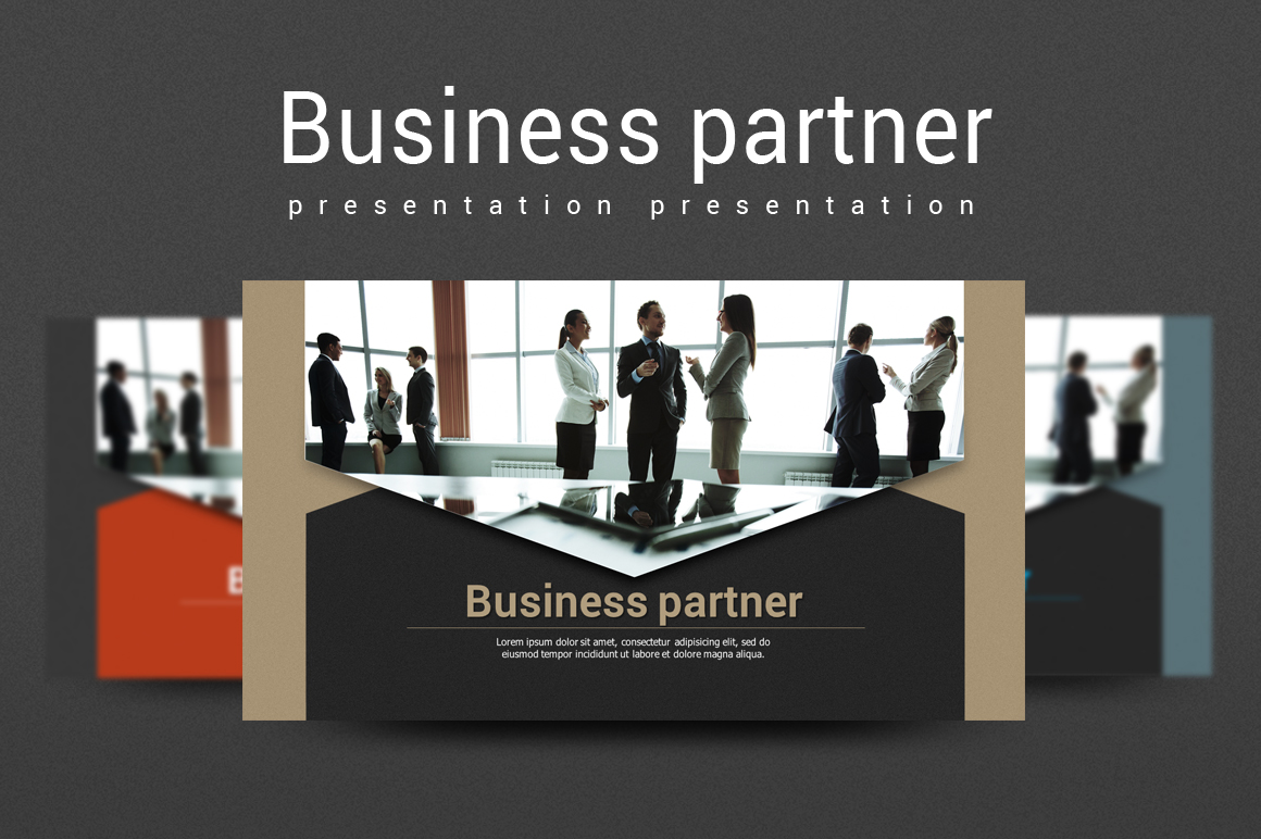 Business Partnership PPT example image 1