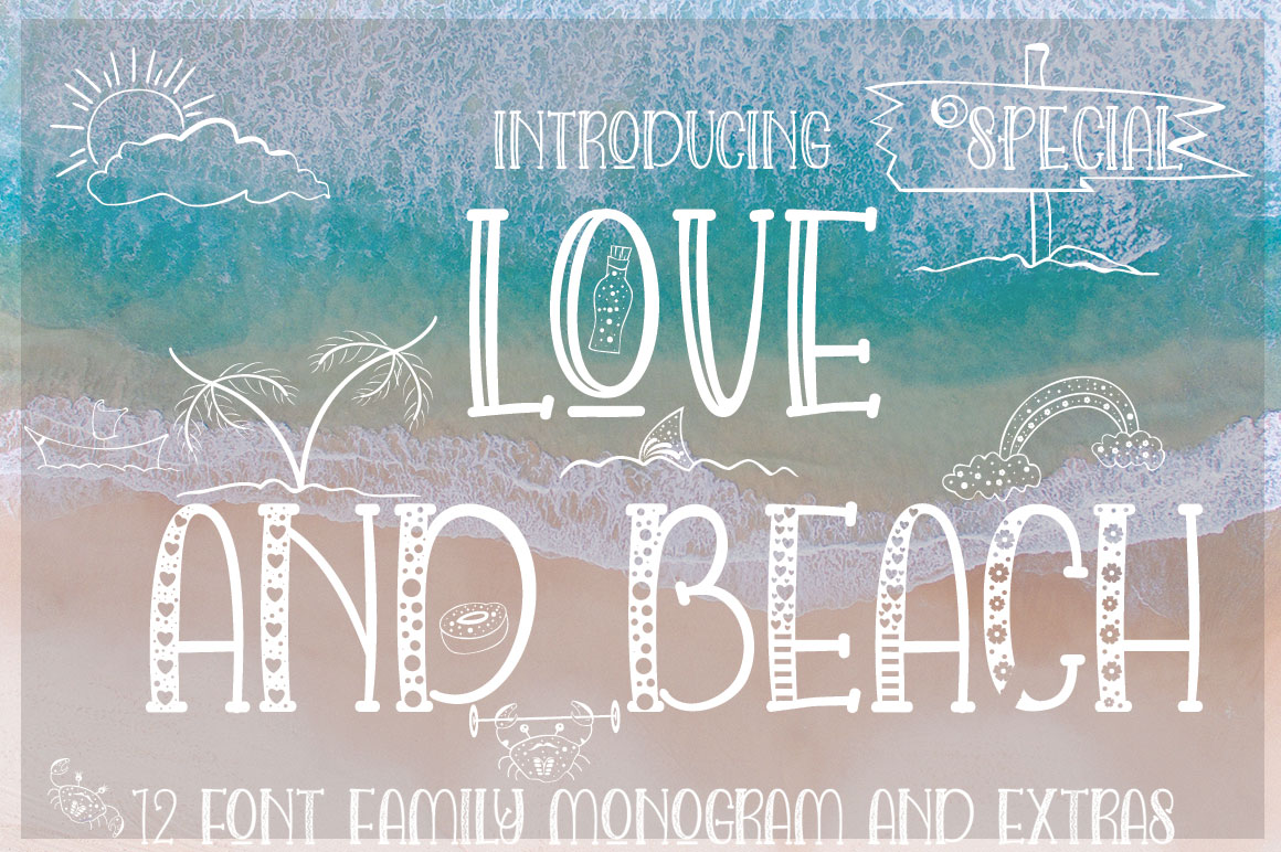 LOVE AND BEACH example image 13