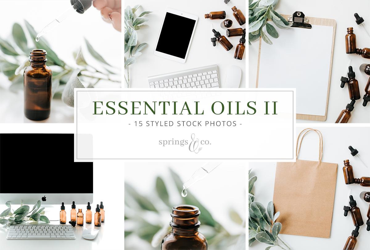 Essential Oils II Stock Photo Bundle example image 1
