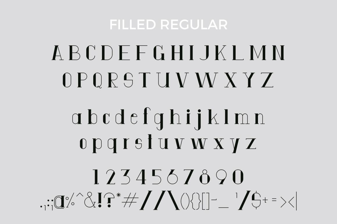 Anatta Display Serif Typeface example image 5