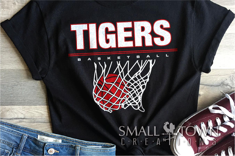 Tigers basketball, tiger mascot, team, PRINT, CUT, DESIGN example image 27